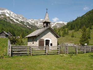Kapelle im Twenger Lantschfeld